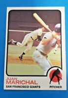 1973 Topps  #480 Juan Marichal NM Giants
