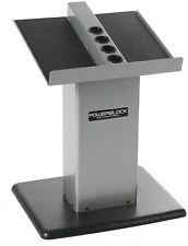 NEW POWERBLOCK Large Column Stand, Silver/Black, Model:Large Column Stand Silver