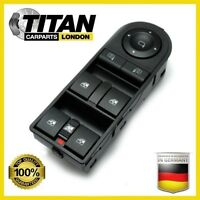 For Vauxhall Astra Zafira Front Drivers Side Electric Window Switch OE 13228877