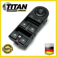 FOR VAUXHALL ASTRA ZAFIRA FRONT DRIVERS SIDE ELECTRIC WINDOW SWITCH 13228877