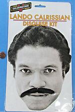 DISGUISE costume mustache LANDO CALRISSIAN Star Wars CELEBRATION V convention