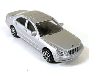 Joy City MB S-Class Mercedes Benz Silver 1:72 Vintage Toy Car Diecast M976