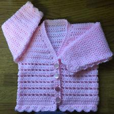 Crochet Cardigan Pattern For Baby/Child (Birth - 6 years) in DK (1003)