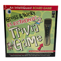IntelliQuest Gross & Yucky Electronic Trivia Game with quiz.   -Complete-