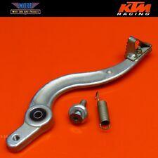 1995 KTM 400 RXC 620 350 OEM Rear Back Brake Pedal Stop Lever Bolt Spring 94-00