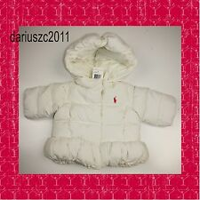 Polo Ralph Lauren puffer  nevis white  jacket coat size 6M