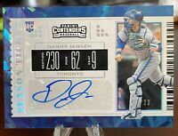 2019 CONTENDERS DRAFT CRACKED ICE /23 AUTO DANNY JANSEN BLUE JAYS