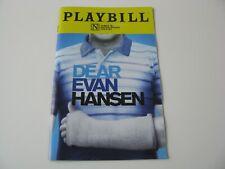 2019 Dear Evan Hansen James M Nedelander Theatre Chicago IL Playbill Program Nov