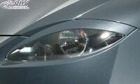 RDX Scheinwerferblenden SEAT Leon 1P (auch Facelift) Böser Blick Blenden Spoiler