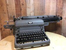 Vintage Royal Typewriter ~ Full Metal Construction ~ w/ Extra Large Platen