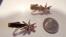 VINTAGE NEW GOLD PLATE  ARMY AIR DEFENSE ARTILLERY MILITARY TIE CLASP
