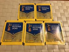 Panini World Cup Russia 2018 5 Packs Macdonalds