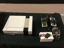 Nintendo Entertainment Nes Gaming System w/ Controllers & Cords Used & Untested