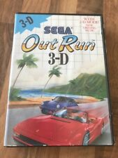 Master System:      OUT RUN 3-D    en boite    PAL EUR