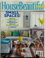 House Beautiful July Aug 2016 Small Spaces Apartment Bungalow FREE SHIPPING sb