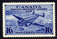 CANADA AIR MAIL SPECIAL DELIVERY #CE1 16c Brt ULTRA, 1942, MNH
