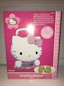 Sanrio Hello Kitty Waffle Maker KT5221 2006 NEW UNUSED in Box
