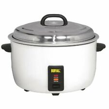 More details for buffalo commercial electric rice cooker 23 litre ltr cb944 catering restaurant