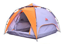 Lerpin 4-season Grey and Orange Tent, 3 sizes