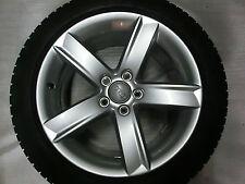 Original Audi A5 Typ 8T Alufelgen mit Winterreifen 7x17 Et 28 8T0071497   R16104
