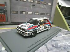 LANCIA Delta HF Integrale EVO Rallye Monte Carlo 1992  #1 Kankkunen Spark 1:43