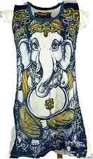 Ganesh Weed Longshirt Minikleid Gr. S Baumwolle Sure Shirts Thailand