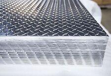 Aluminum Diamond Plate Sheets 080x48x96 4 Pack