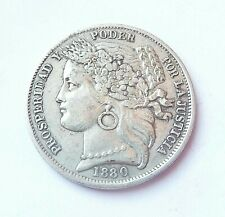 PEROU  1 peseta 1880   argent