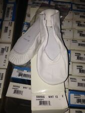 Bloch WHITE ballet dance shoes full leather sole, 205 205G (GIRL sizes 7-1.5)