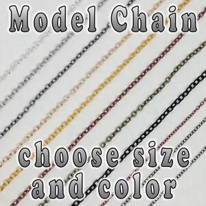Hobby Model Chain - 3mm x 2mm - 1.5mm x 2mm - choose color - Per Meter