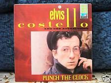 ELVIS COSTELLO -PUNCH THE CLOCK -mai suonatoCOPIA PROMO