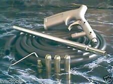 AIR SIPHON SANDBLASTER TOOL metal sand blaster Brand New with Hose and Tips