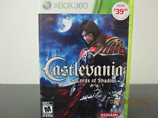 Castlevania: Lords of Shadow  (Xbox 360, 2010) *Tested/Complete/Like New*