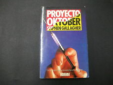 Libro Proyecto Oktober - Stephen Gallagher