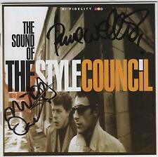 STYLE COUNCIL (Paul Weller)  - Genuine set of autographs - AFTAL REGD DEALER