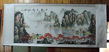 Chinese scroll painting - mountains waters painting 江南秋韵 Jiangnan autumn