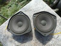 "TWO Bose 4.5"" Inch Speakers  Model 108515 Original OEM Replacement"