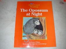 Sra Level B book The Opossum at Night by Anne O'Brien