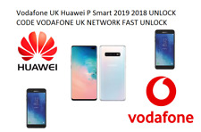 Vodafone UK Almost All Huawei P Smart 2019 2018 y9 Prime UNLOCK CODE FAST UNLOCK