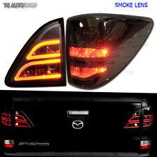Mazda Bt50 Bt-50 Pro Ute 2012 13 14 15 Smoke Led Tail Lamp Light Rear Taillights