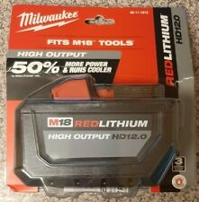 🆕️Milwaukee M18➖48-11-1812➖High Output⚡Red Lithium⚡12.0HD Battery Pack‼Sealed📦