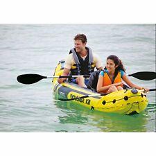Inflatable Kayak Easy Streamlin Paddling Water Boat Rowing Outdoor Fishing Boat