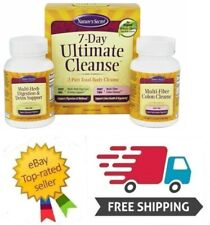 Nature's Secret 7 Day Ultimate Cleanse 2-Part Total-Body Cleanse 02/2020