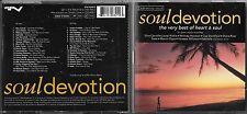 2 CD 36T SOUL DEVOTION BEST OF HEART & SOUL STANSFIELD/MICHAEL JACKSON/GAYE/SADE