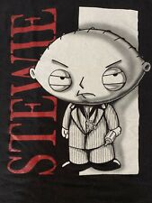 Rare Family Guy Stewie As Scarface Black T shirt XL Vintage