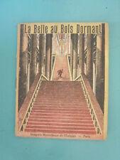 petit livre imagerie merveilleuse de l'enfance-paris -la belle au bois dormant
