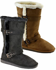 Flat (less than 0.5') Textile Snow, Winter Boots for Women