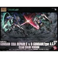 Hg 1/144 Exia Repair Ii & O Gundam Clear Color ver. Gundam Expo ExclusiveNew