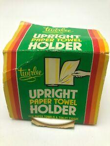 Vintage Twirlee Upright Paper Towel Holder
