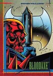 BLOODAXE / 1993 Marvel Universe Series 4 (SkyBox) BASE Trading Card #97